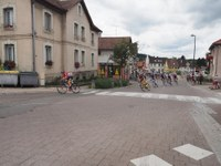 Les premiers coureurs du tour d'Alsace 2017