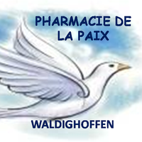 Logo Pharmacie de la Paix de Waldighoffen.