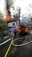 Photo incendie Waldighoffen rue de Bâle