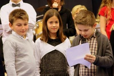 voeux du Maire de Waldighoffen 2019 enfants lecteurs
