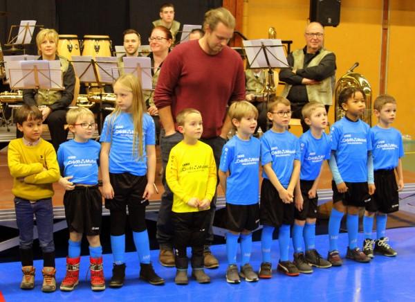 voeux du Maire de Waldighoffen 2019 footballeurs