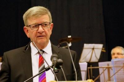 voeux du Maire de Waldighoffen 2019 le Maire