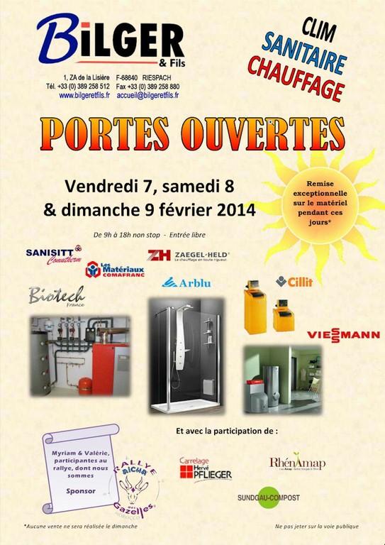 Journées Portes Ouvertes Vendredi 7, Samedi 8 et Dimanche 9 Février 2014 De 9h à 18h non stop // Entrée Libre