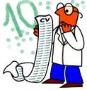 Clipart 10 commandements pour un CV