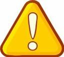 Image clipart panneau alerte