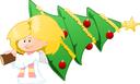 Ange+sapin de Noël