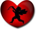 Coeur et Cupidon