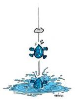 Clipart fuite d'eau
