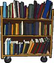 Rayonnages de livres