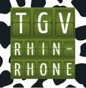 TGV fond vache
