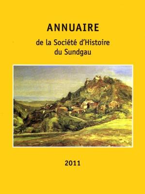 Couverture Annuaire 2011 de la Société d'Histoire du Sundgau