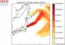 IRSN animation nuage radioactif Japon