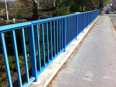 Pont Jean de Loisy réparé à Waldighoffen