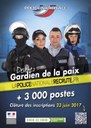 Affiche police nationale