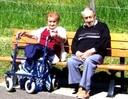 Antoine et Marguerite Ditner mai 2012 - d'après L'Alsace