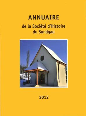 Couverture Annuaire 2012 de la Société d'Histoire du Sundgau