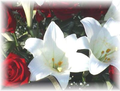 Photo fleurs décès
