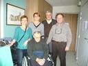 Les 93 ans du curé Ditner avec la municipalité de Waldighoffen