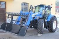 Photo du nouveau tracteur