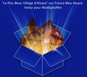 Visuel Plus beau village France Bleu