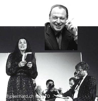 Yvonne GUNKEL, Germain MULLER et JP LIENHARD