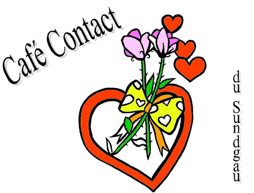 Logo Café Contact du Sundgau couleurs