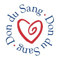 Logo officiel du Don du sang.
