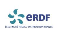 Logo de la Société ERDF (Agence Réseau Electricité de France)