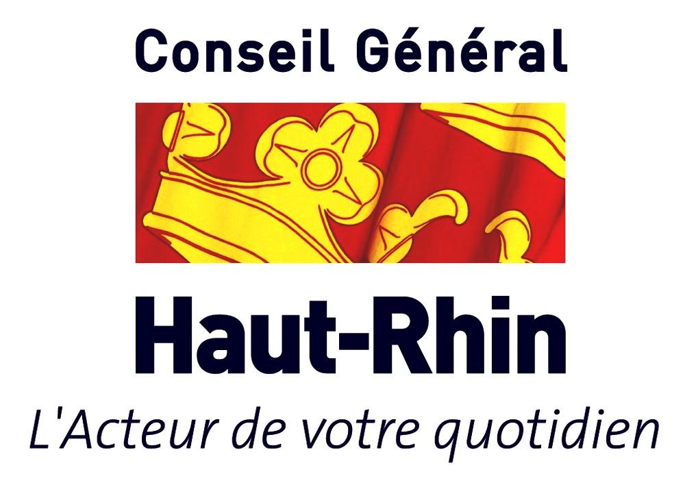 Logo Conseil Général du Haut-Rhin-l'acteur de votre quotidien