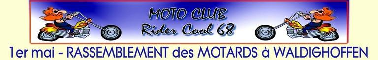 Bannière Moto Club Rider Cool 68 - Rassemblement 2011