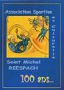 Couverture du livre 100e anniversaire de l'ASC de Riespach