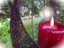 Photophore à un arbre pour anniversaire