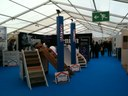 Stand d'habillage d'escaliers.