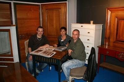 Expo Habitat 2010 stand de portes et meubles en meurisier
