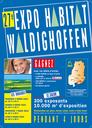 Voici l'affiche de la 27e édition de l'EXPO-HABITAT