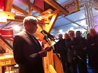 Discours de Henri HOFF, Maire de WALDIGHOFFEN - Inauguration de l'Expo-Habitat 2011 à Waldighoffen