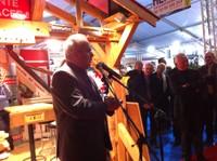 Discours de René DANESI, Président du SMS (Syndicat Mixte pour le Sundgau) - Inauguration de l'Expo-Habitat 2011 à Waldighoffen