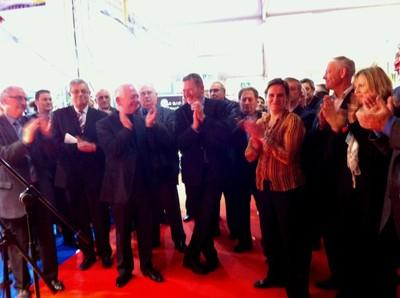 Bonne humeur à l'inauguration de l'Expo Habitat 2011 de Waldighoffen