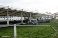 Montage des tentes Expo Habitat 2011