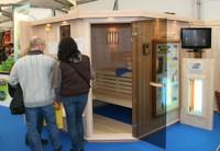 Un sauna à l'Expo-Habitat 2011 à Waldighoffen