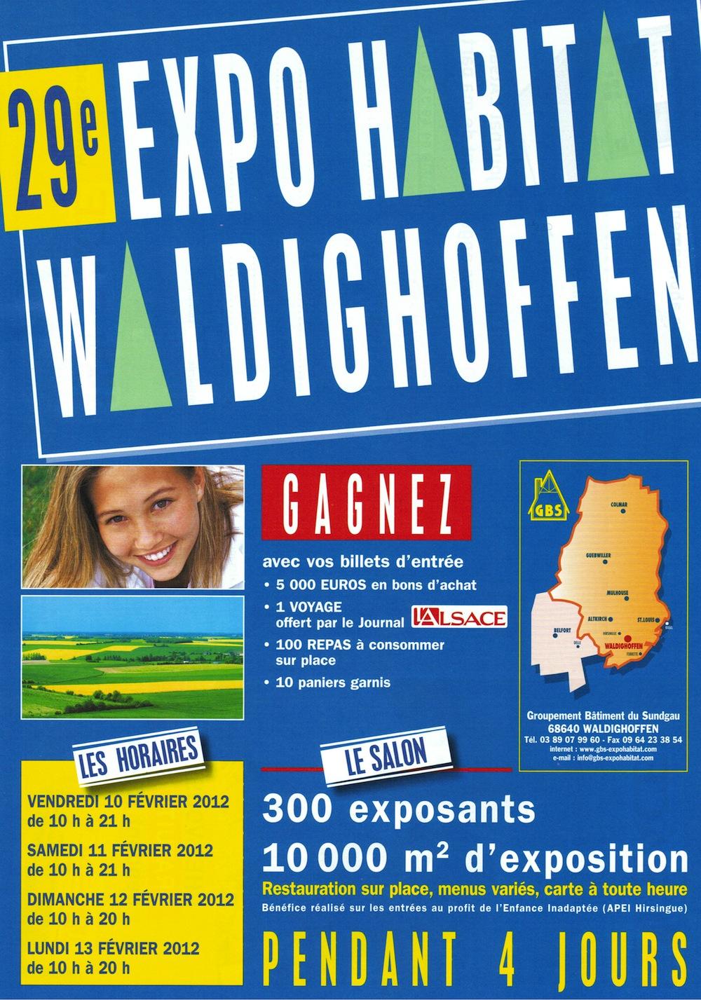 Affiche Expo Habitat 2012