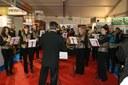 La Concordia de Waldighoffen a animé musicalement l'inauguration de l'Expo Habitat 2013.
