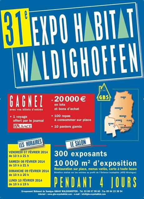 Affiche Expo Habitat 2014