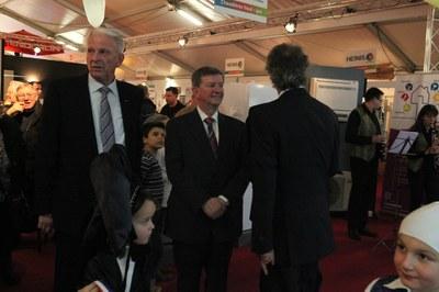 M. Heinis et le Maire photo-Gaby