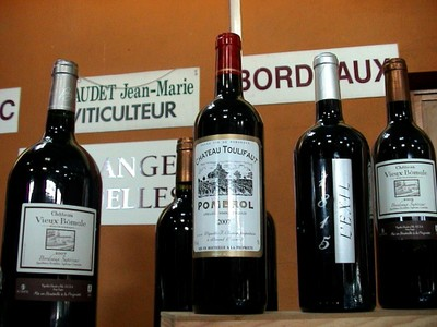 Belles bouteilles de Bordeaux