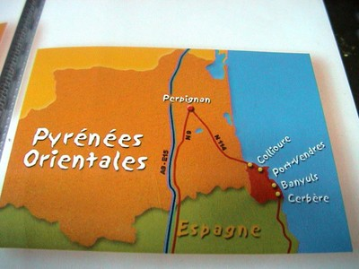 Localisation des vins de Banyuls