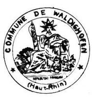 Tampon de la Mairie de Waldighoffen en 1938