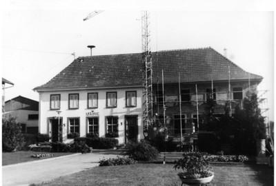 La construction de la nouvelle Poste de Waldighoffen