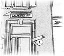 Le logo de La Poste revu par Francine Hoff