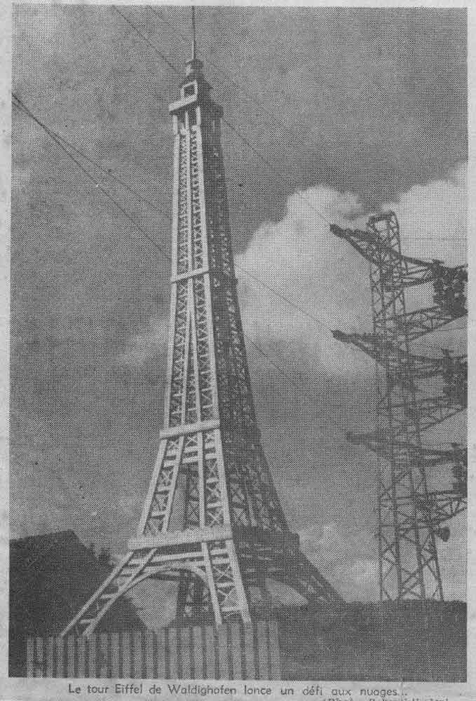 Article-Tour-Eiffel en bois-Waldigh-1954